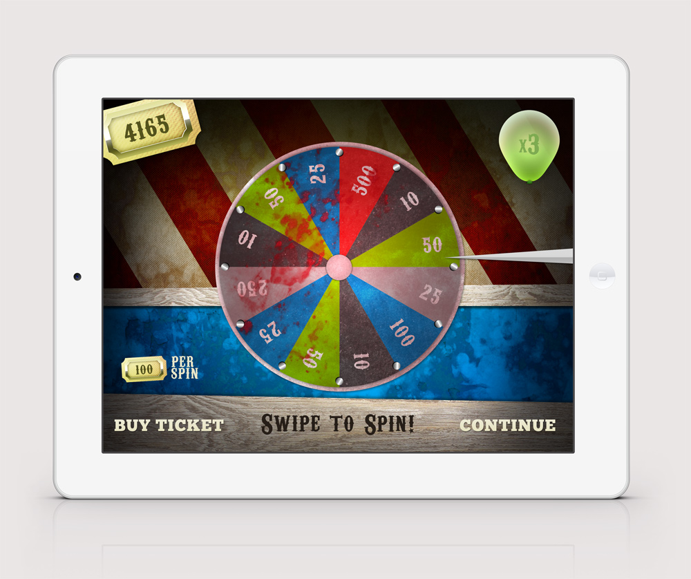 Spin the wheel, win a prize!